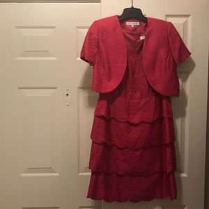 Nipon Boutique 2pc Dress and Jacket